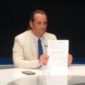 """Cassá en Ondaluz TV: """"Nuestra obligación es poner en conocimiento de la Fiscalía lo que ha pasado en Limasa"""""""