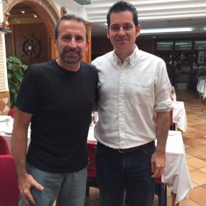 Carballo comparte tertulia con Joan Plaza en Radio Marca