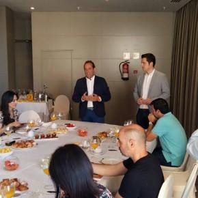 Desayuno con la prensa para hacer balance del primer año en la Casona