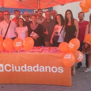 El grupo municipal se vuelca en el apoyo a los candidatos de C's