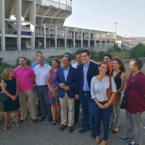 C's advierte del riesgo de afrontar el otoño sin los cauces limpios en Málaga capital y urge a la Junta a actuar