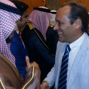 Recepción del cónsul de Arabia Saudí