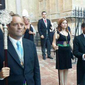Ciudadanos acompaña a la Patrona en su procesión por las calles de la ciudad