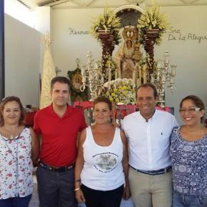 Cassá asiste a la degustación de paella en la romería de la Alegría