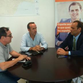 Reunión con la Asociación de Hosteleros de Málaga (MAHOS)