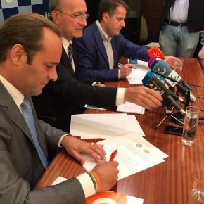 Ciudadanos pacta que los impuestos bajen en Málaga 12 millones en 2017