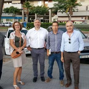 Reunión del equipo municipal de distritos con Parque Litoral