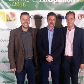 El grupo municipal de C's acude a la entrega de premios de La Opinión