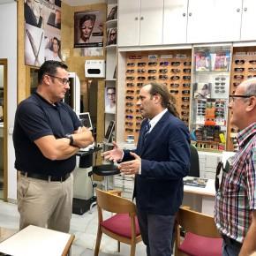 El equipo municipal de distritos visita Puerto de la Torre