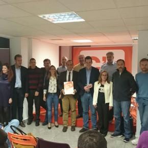 El grupo municipal desgrana las líneas de acción política en una reunión con los afiliados