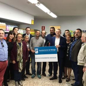Los acuerdos de C's permiten ayudar a 11.200 malagueños al mes en economatos como Corinto
