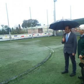 C's reclama el arreglo urgente del campo de fútbol-7 de San Ignacio ante las continuas lesiones de los niños