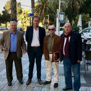 Reunión con accionistas minoritarios del Málaga CF