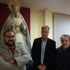 La Hermandad de Mediadora recibe la visita de Ciudadanos