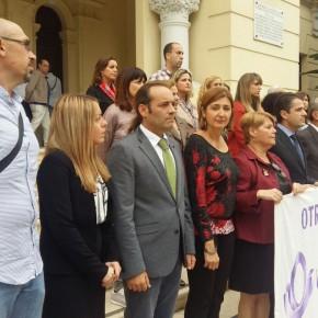 Concentración silenciosa en memoria de la mujer asesinada en Burgos