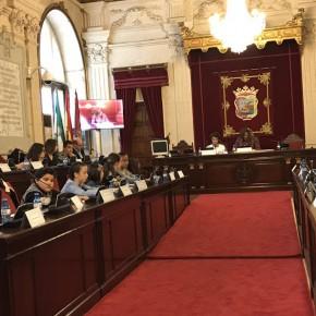 Carballo representa a Ciudadanos en el Pleno infantil