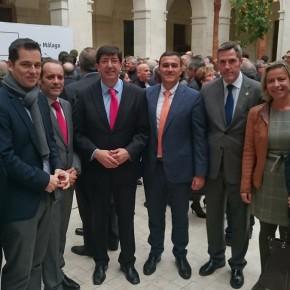 C's asiste a la inauguración del Museo de Málaga en La Aduana