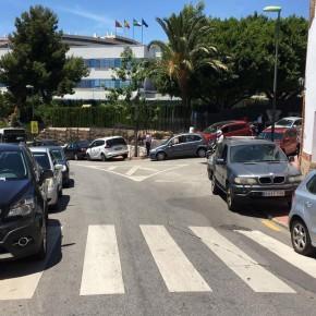 C's impulsa mejoras de movilidad en las calles Ferrocarril, Gabriel y Galán, Miguel Indurain y en el acceso al Colegio Cerrado de Calderón