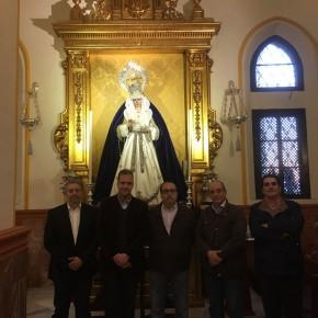 Reunión del grupo municipal con la cofradía del Descendimiento