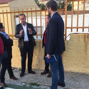 C's se reúne con la directiva del Málaga Norte de balonmano