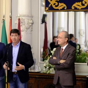 Marín se compromete a pedir en el Parlamento andaluz la reforma de los paseos de El Palo y Pedregalejo