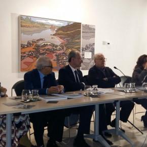 Inauguración de la exposición 'Paisajes Andaluces' de Eugenio Chicano