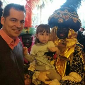 Carballo participa en la recepción de la Corporación a los Reyes Magos