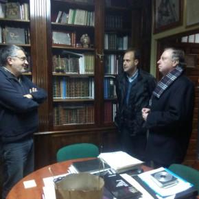 Ciudadanos visita la casa hermandad de la Esperanza