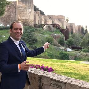 Contratadas las obras para abrir la pasarela de la Alcazaba, una nueva propuesta de Cs que avanza a buen ritmo