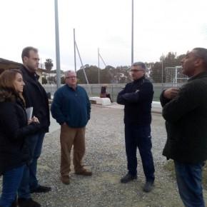 El grupo municipal se reúne con la directiva del C. D. Guadalmar