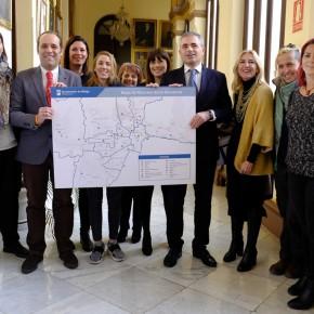 Presentado el mapa que servirá para activar el ambicioso programa de apoyo escolar que propone C's para Málaga