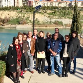 Más agua en la Laguna de la Barrera gracias a Cs Málaga