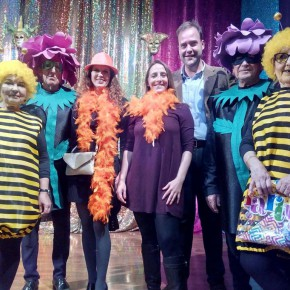 El grupo municipal asiste al Carnaval del Mayor de Churriana