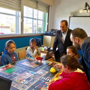 Arranca Málagabyte, programa escolar sobre robótica y programación pionero en España y promovido por Cs