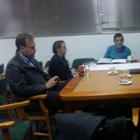 Reunión con la Asociación de Vecinos Fuente del Rey del distrito de Churriana