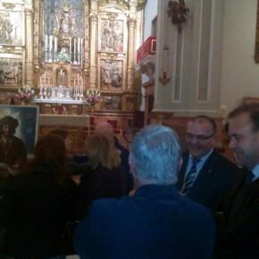 Ciudadanos acompaña a la cofradía de la Humildad en el estreno de su cartel