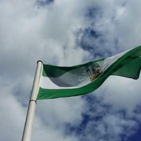 Celebración del Día de Andalucía en el monumento a Blas Infante
