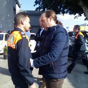 Cassá acude al acto anual de los voluntarios de Protección Civil