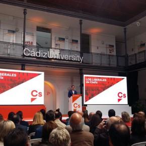 Cassá se suma al homenaje de Cs a 'Los Liberales de Cádiz'