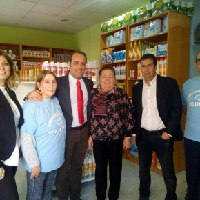 Inaugurado el supermercado solidario de la Asociación Hispano Rumana 'Armonía'