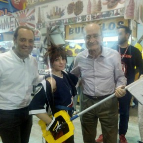 Cassá acude a FreakCon en el Palacio de Ferias y Congresos