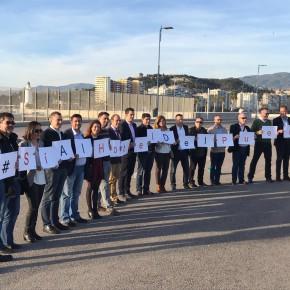 Cs activa una campaña en redes de apoyo al hotel del dique de Levante y al proyecto comercial del muelle 4