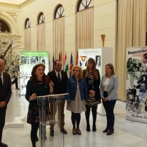 Inauguración de la exposición 'Huellas de Mujeres Geniales'