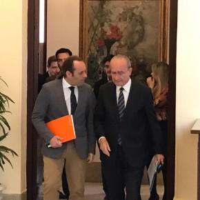 Los acuerdos Cs-De la Torre sientan bien a Málaga