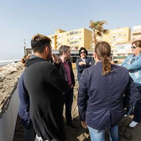 Cs urge a actuar en las playas de la capital antes del verano y estudios en profundidad sobre dinámica litoral