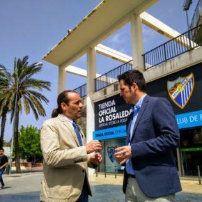 Cs pide acelerar la declaración de utilidad pública de la Fundación Málaga CF para avanzar en la Academia