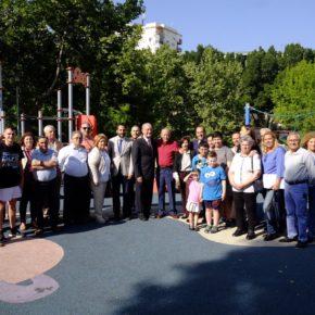 Un parque infantil en Carlinda llevará el nombre de Joaquín González Moreno
