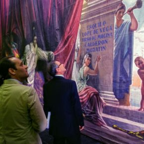 Cs ve la restauración del telón de boca del Cervantes como un gran ejemplo de colaboración público-privada