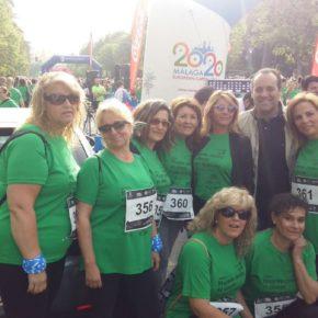 Cassá anima a las participantes en la Carrera Mujeres contra el Cáncer