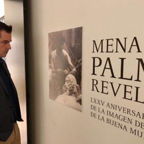 Carballo asiste a la exposición sobre el Cristo de Mena en el Museo Revello de Toro